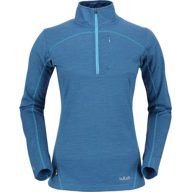 Rab - Women's MeCo 190 Long Sleeve Zip Tee