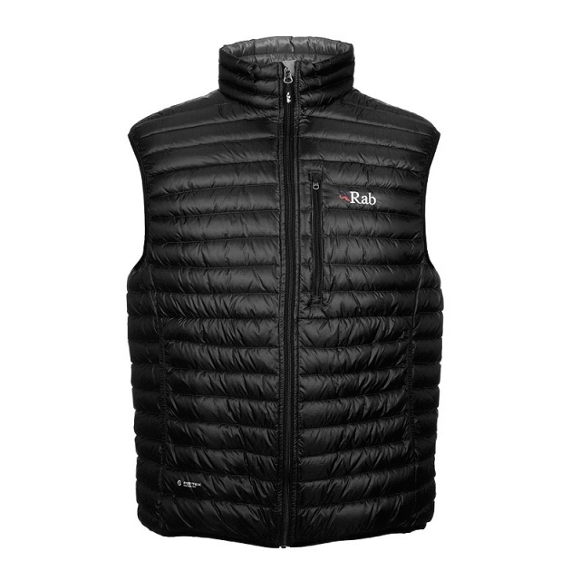 Rab - - Microlight Vest Men - Small - Black