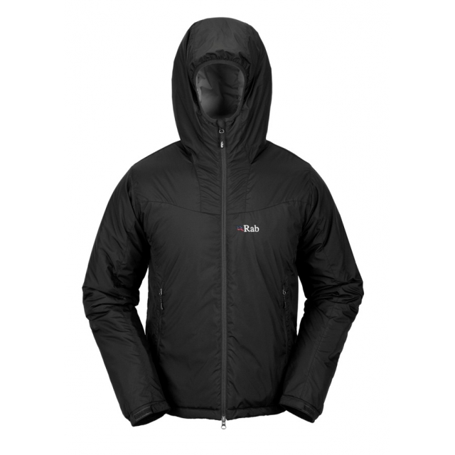 Rab - - Plasma Hoodie Men - Medium - Black