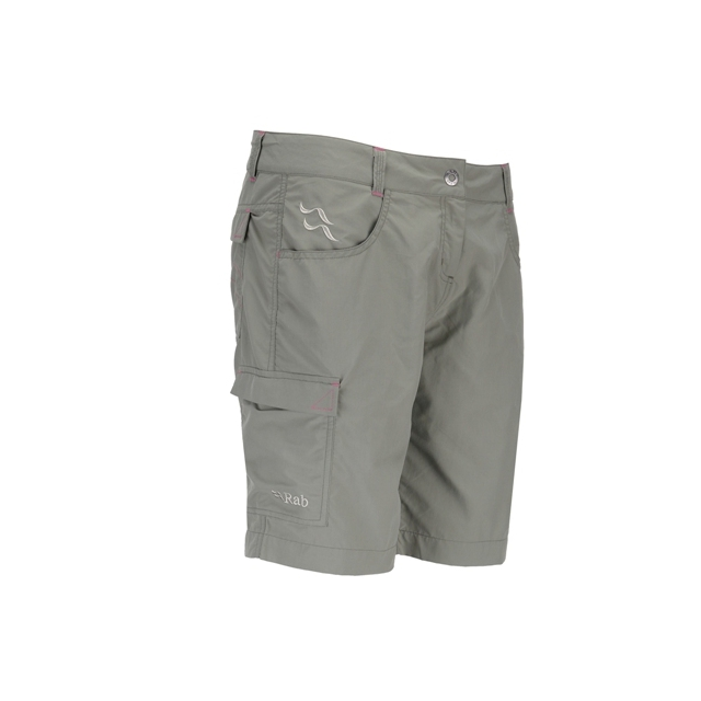 Rab - - Solitude Short Womens - X-Small - Prickly Pear