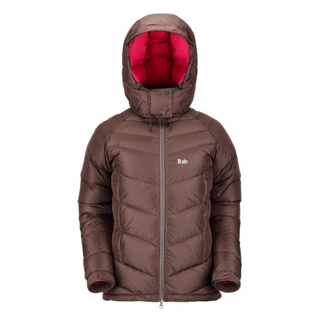 Rab - - Ascent Jacket Women - X-Small - Peat