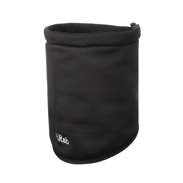 Rab - power stretch neck shield black