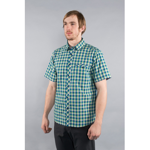 Rab - - Drifter SS Shirt M - small - Perry Blue Print