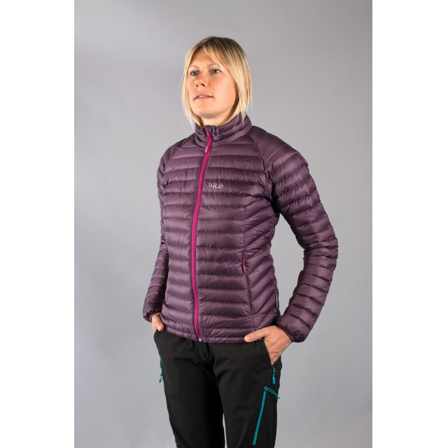 Rab - - Microlight Jacket W - small - Aubergine
