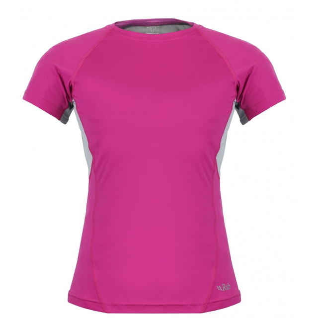 Rab - - Helium Tee W - X-Small - Orchid