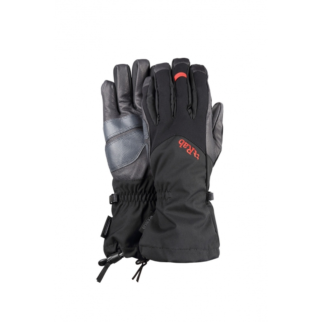 Rab - - ICEFALL GAUNTLET   - SMALL - Black