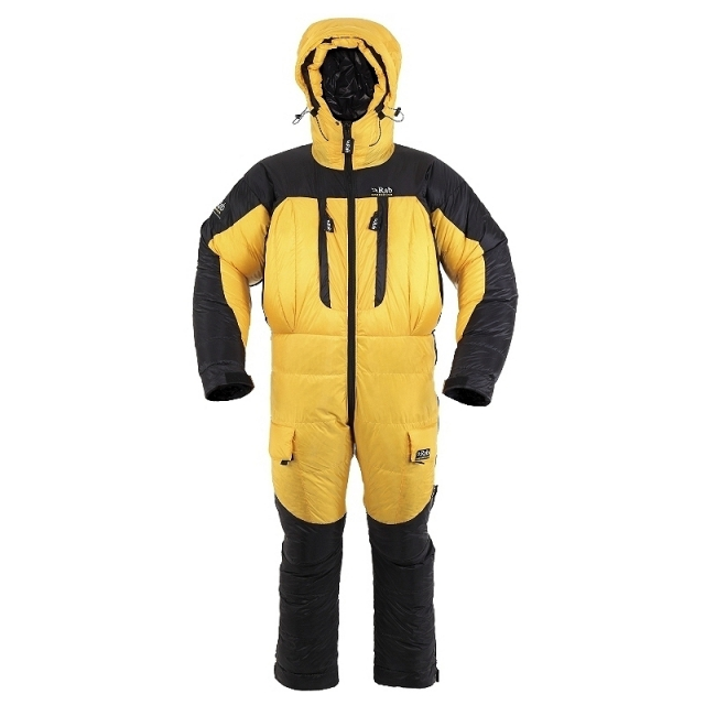 Rab - expedition suit gold/ black