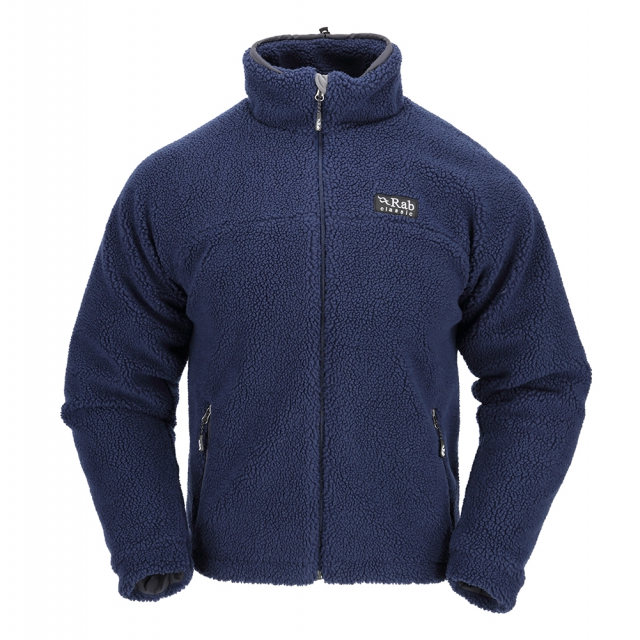 Rab - mens double pile jacket twilight