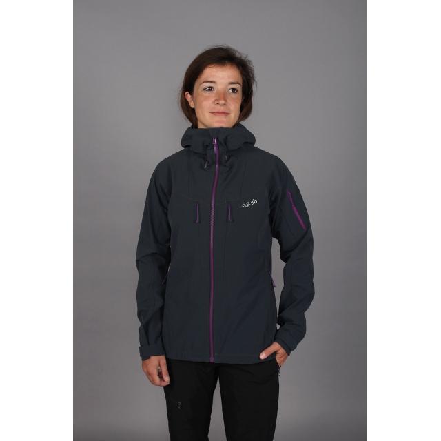 Rab - - Upslope Jacket W - X-SMALL - Ebony