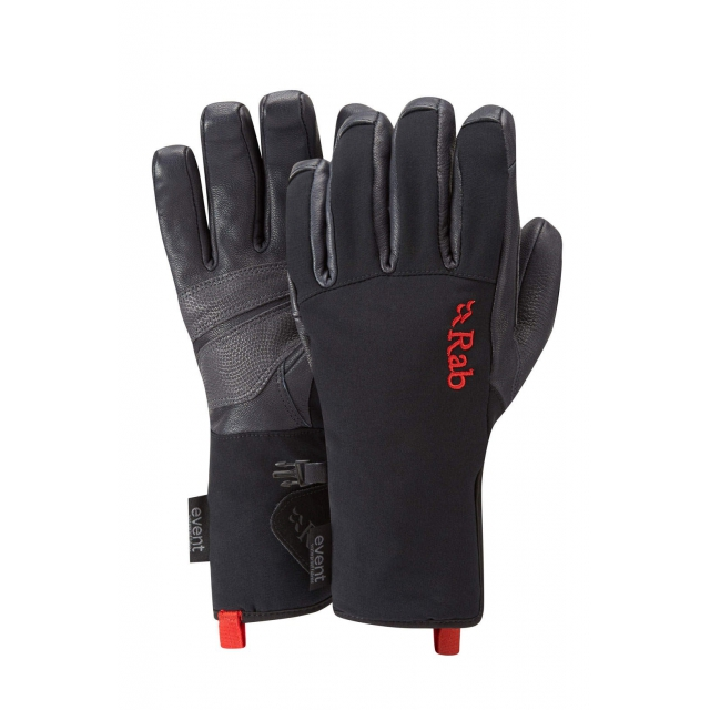 Rab - - TALON GLOVE - X-LARGE - Black