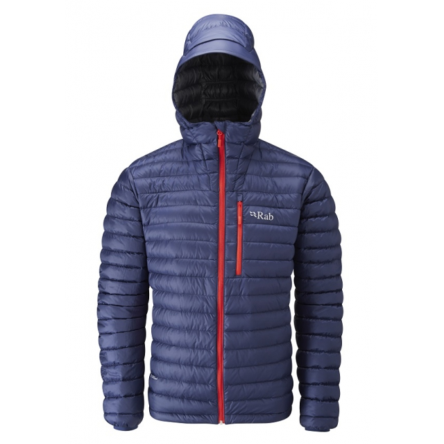 Rab - mens microlight alpine jacket twilight/ shark
