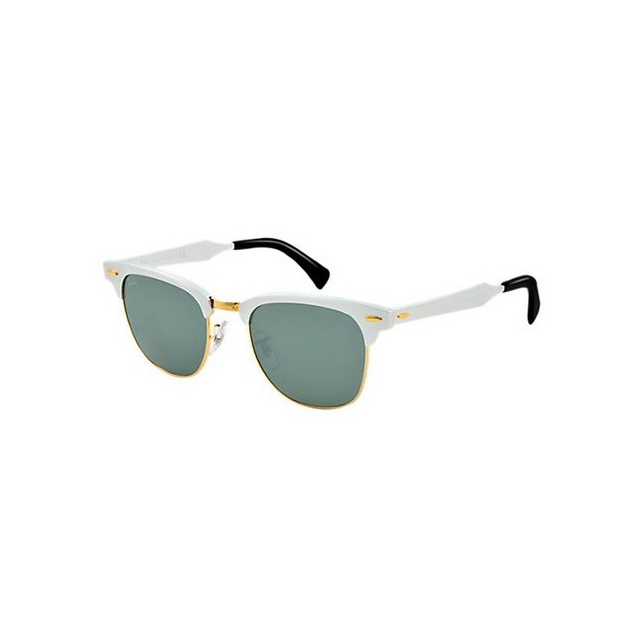 Ray Ban - Clubmaster Aluminum - Grey Mirror Sunglasses