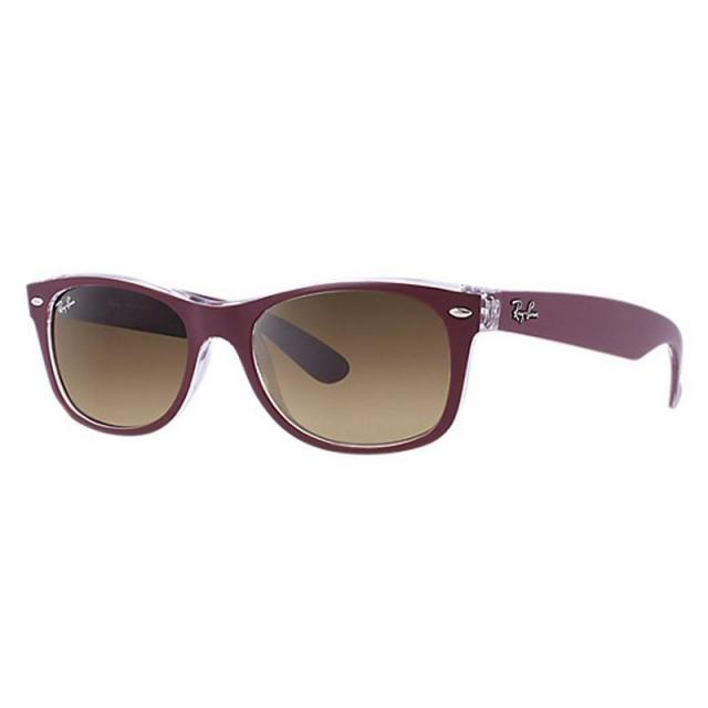 Ray Ban - New Wayfarer-Brown/Transparent Sunglasses in Ashburn Va