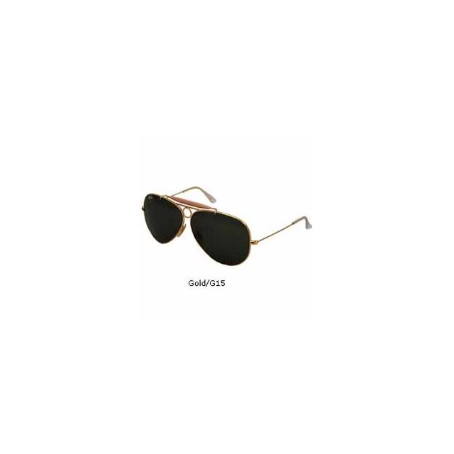 Ray Ban - Shooter 3138 Aviator Sunglasses - Gold