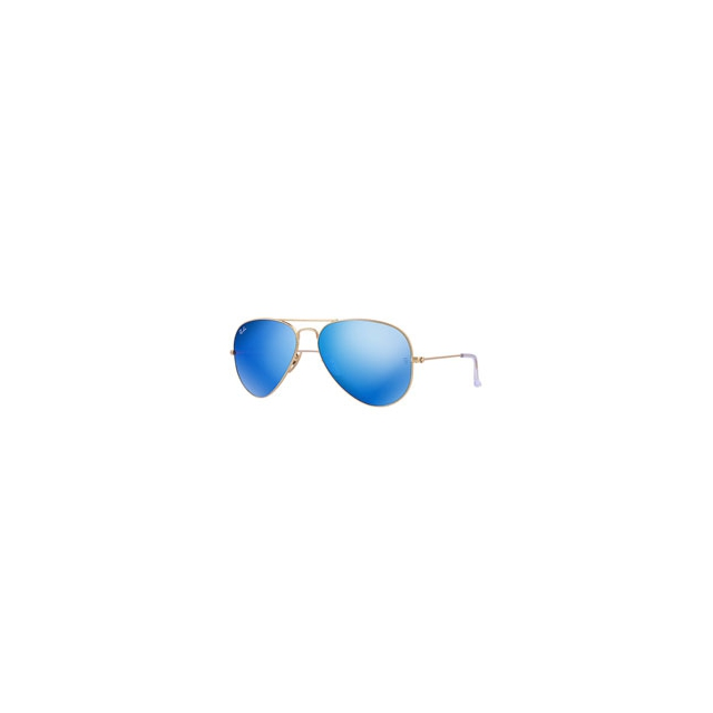Ray Ban - Aviator with Mirrored Lenses - Unisex