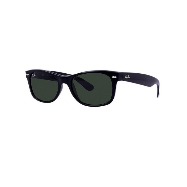 Ray Ban - New Wayfarer-Black Polarized Sunglasses