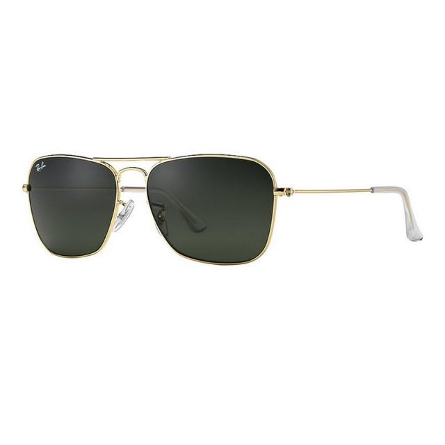 Ray Ban - Caravan - Gold Sunglasses