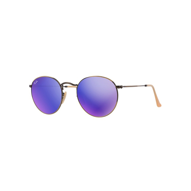 Ray Ban - - Round Metal Bronze Demi