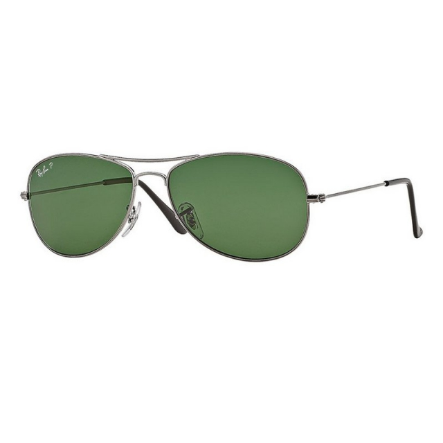 Ray Ban - Cockpit - Gunmetal Polarized Sunglasses in Ashburn Va