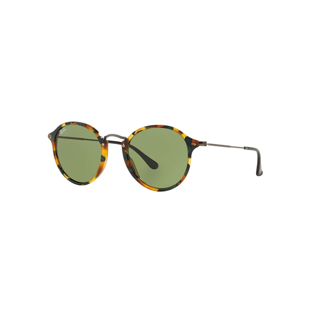 Ray Ban - - Round Fleck Green Classic