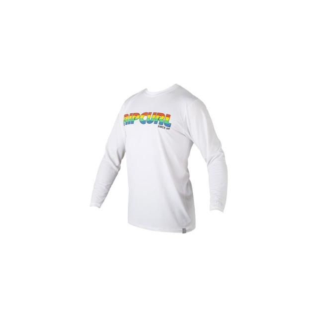 Rip Curl - Mens Big Mama L/S Surf Shirt - Sale White XL