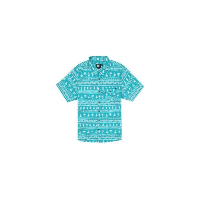 Rip Curl - Mens Coco Cabana S/S Shirt - Sale Aqua Medium