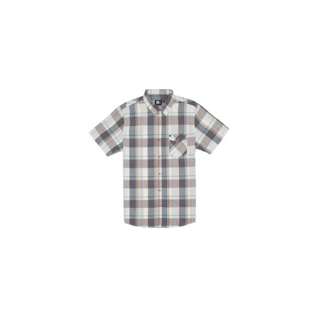Rip Curl - Mens Manta S/S Shirt - Sale Off White Medium