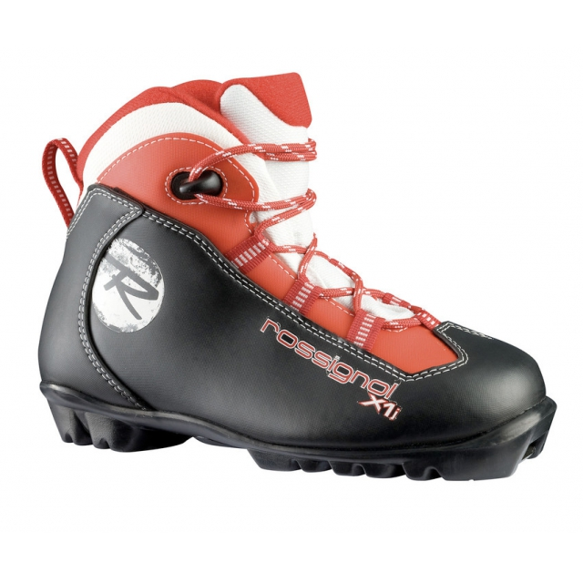 Rossignol - - X1 Junior NNN Cross Country Boots - 37 - Red/Black
