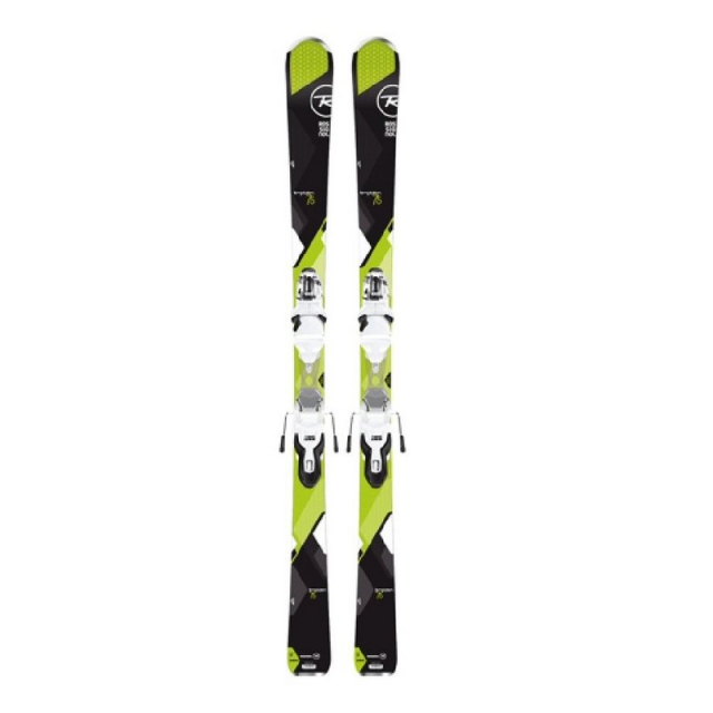 Rossignol - Women's Temptation 75 Dark Skis with Xpress Bindings