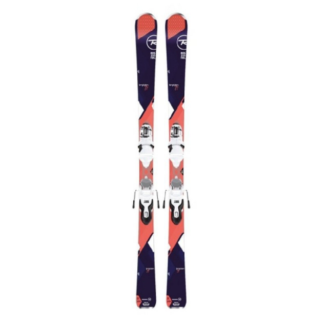 Rossignol - Women's Temptation 77 Dark Skis with Xpress Bindings