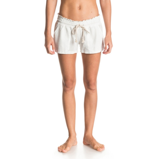 Roxy - Oceanside Beach Shorts - Closeout Stone Large