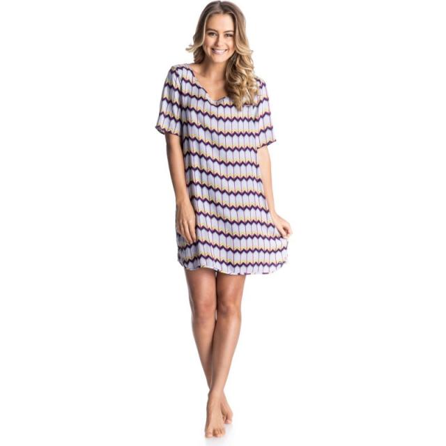 Roxy - Retro Row Dress - Closeout Light Denim Dakota XL