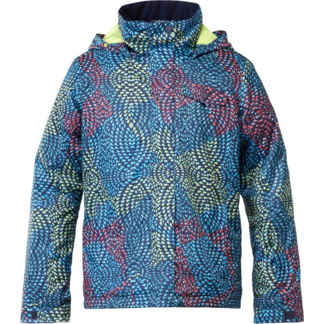 Roxy - Girls Jetty Print Jacket - Closeout Modern Moroccan 12