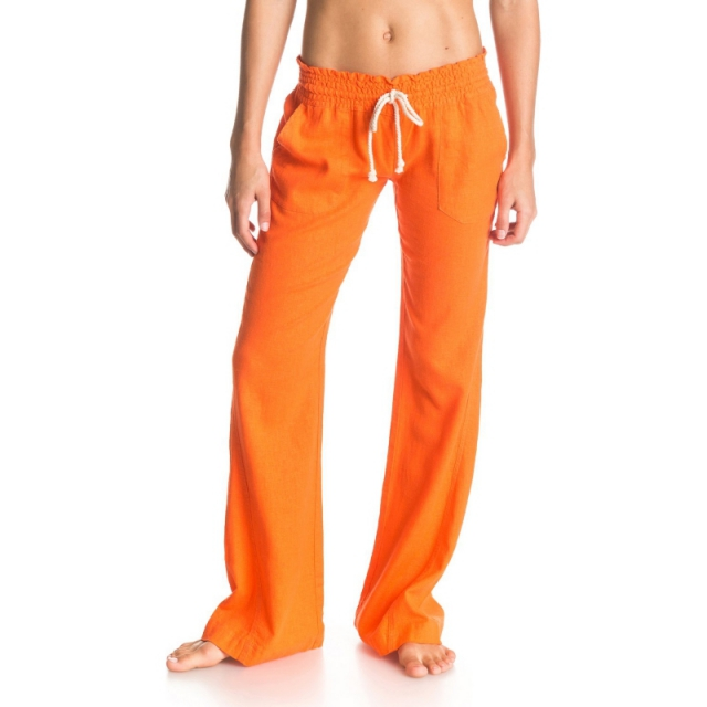 Roxy - Oceanside Beach Pant - Sale Persimmon Large