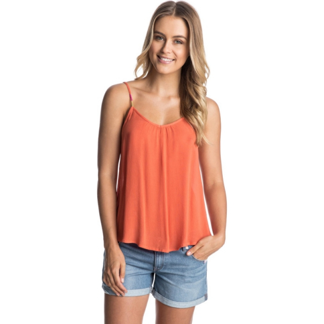 Roxy - Sand Dune Tank Top - Closeout Persimmon Medium