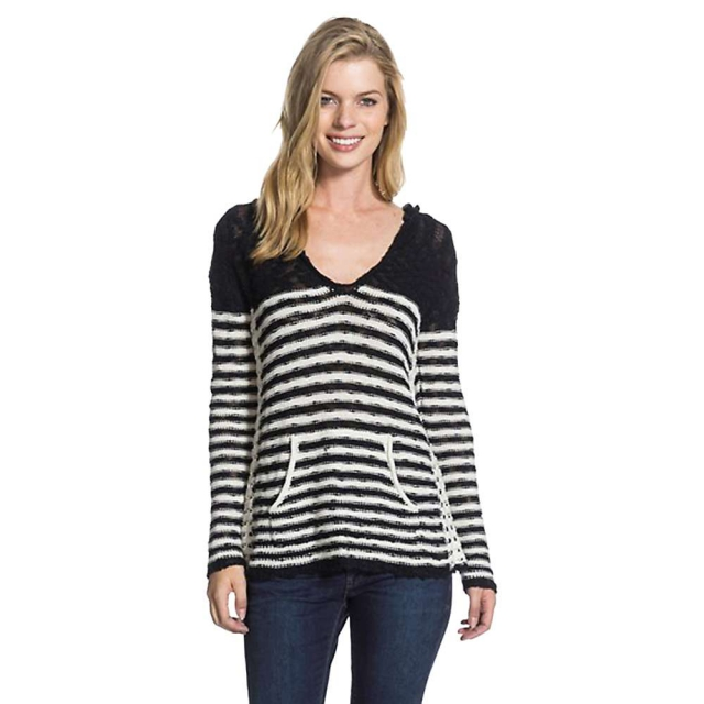 Roxy - Women's White Caps Stripe Sweater