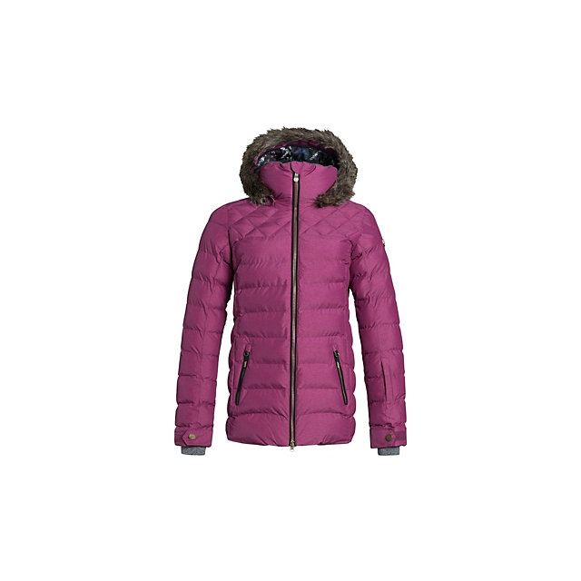 Roxy - Quinn w/Faux Fur Womens Insulated Snowboard Jacket