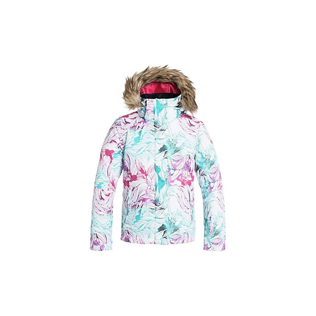 Roxy - American Pie Faux Fur Girls Snowboard Jacket
