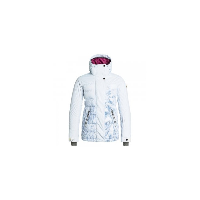 Roxy - Torah Bright Crystalized Print Insulated Snowboard Jacket Women's, Winter Forest, L