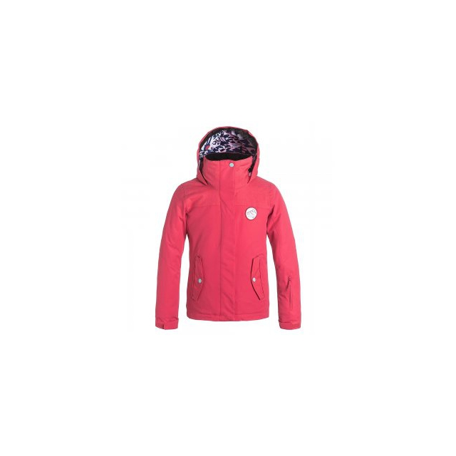 Roxy - Jetty Insulated Snowboard Jacket Girls', Paradise Pink, L