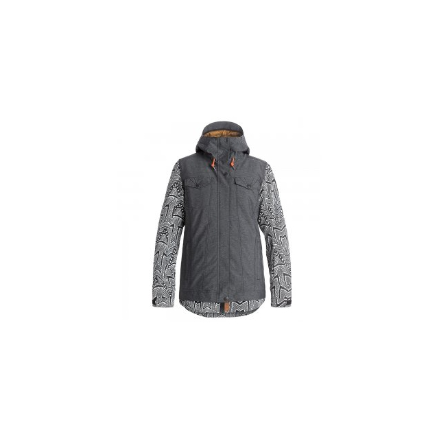 Roxy - Ceder Insulated Snowboard Jacket Women's, True Black, L