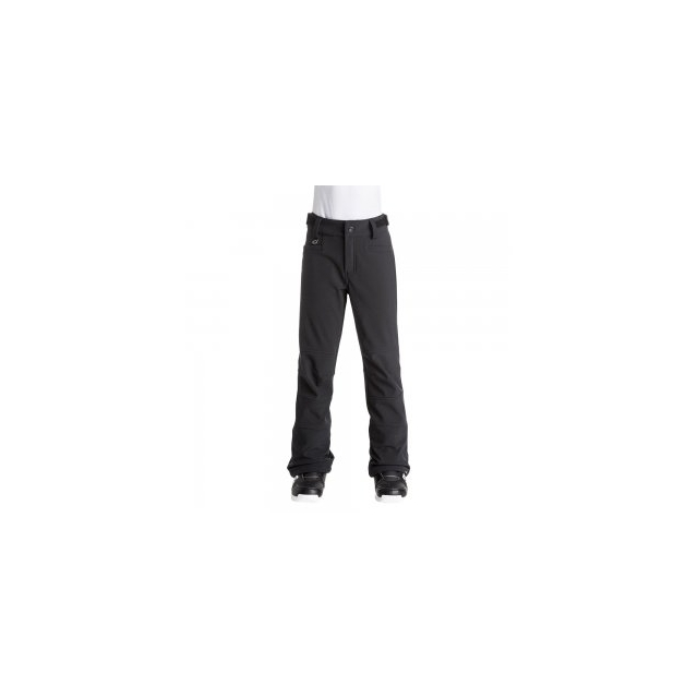 Roxy - Creek Softshell Snowboard Pant Girls', True Black, L