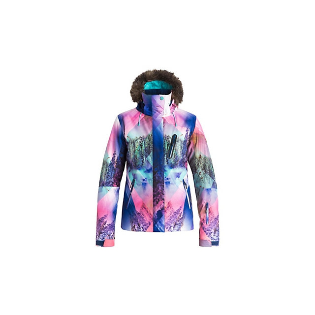Roxy - Jet Ski Premium w/Faux Fur Womens Insulated Snowboard Jacket