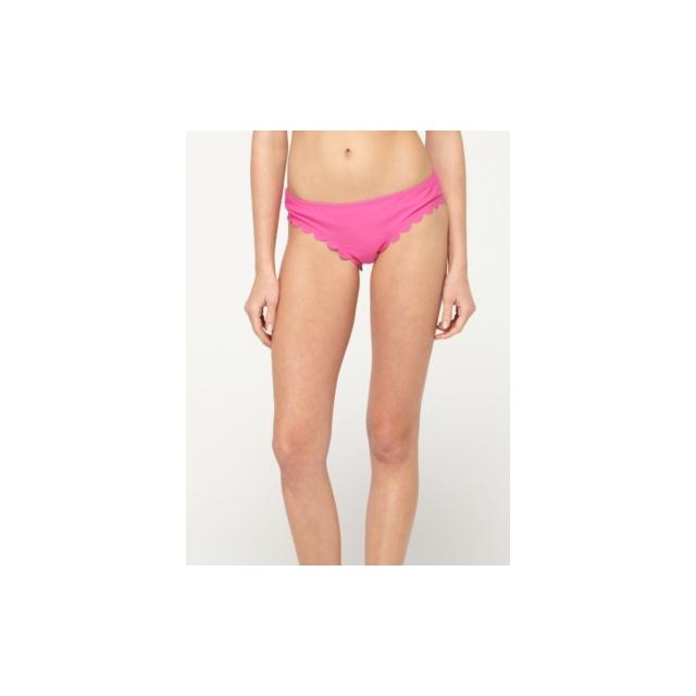 Roxy - Roxy Sun Dancer Scalloped Cheeky Brief Bikini Bottom - Closeout