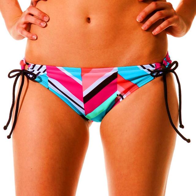 Roxy - Women's Wave Peak 70s Lowrider Tie Side Bikini Bottom
