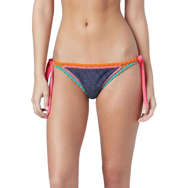 Roxy - Women's Sun Bleached Brazilian Pant Bikini Bottom