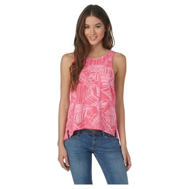 Roxy - Womens Tribal Tropic Tee Tropical Pink Small