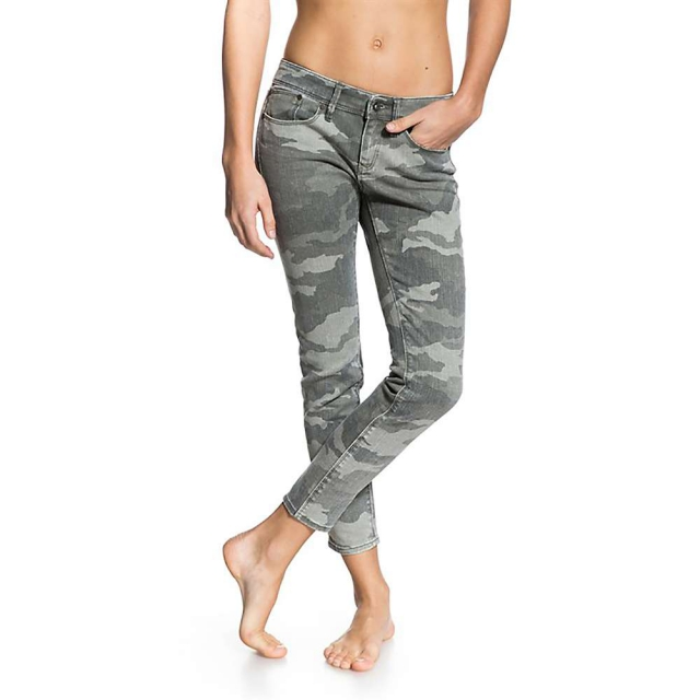 Roxy - Women's Suntrippers Crop Camo Pant