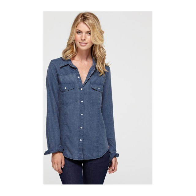 Roxy - Womens Saddleback 3 Top - Sale Light Indigo Large