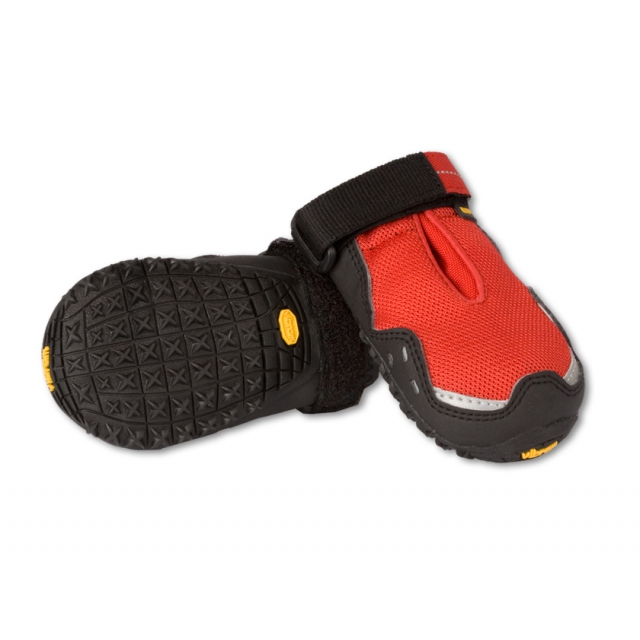 Ruffwear - - Barkn Boots Grip Trex - X-Small - Red Currant